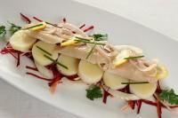 Салат з тріски з хріном