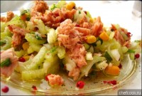 Салат з тунця з тренетте