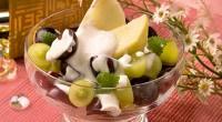 Салат з винограду з йогуртом