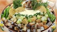 Салат картопляний з копченою рибою (2)