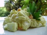 Салат картопляний з майонезом