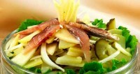 Салат картопляний з оселедцем (2)