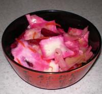 Салат «Червоний пролетар» з капустою