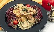 Салат курячий з ананасом і каррі