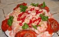 Салат «Морські троянди»