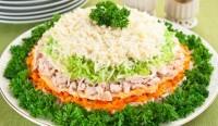 Салат новорічний «Святковий день»