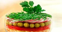Салат «строкатий»