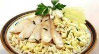 Салат рибний з рисом