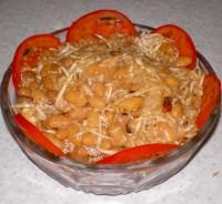 Салат з квасолею та селерою