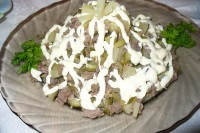 Салат з яловичиною «Соковитий»