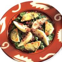 Салат з грушею і голубим сиром