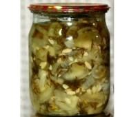 Салат з яблуками і огірками «Цікавий»