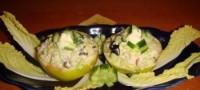Салат з яблуком «Новорічне козуб»