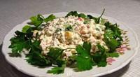 Салат з язиком і рисом «Херсонський»
