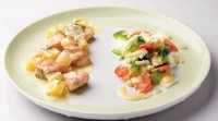 Салат з картоплею та овочами (3)
