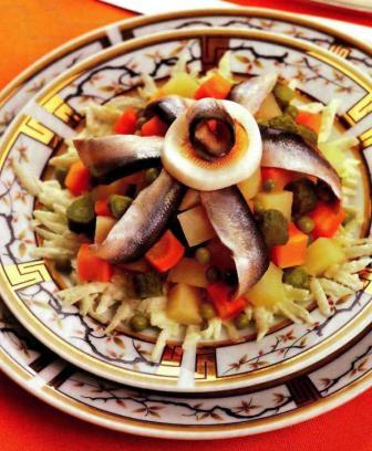 Салат з кількою
