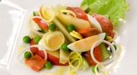 Салат з копченою рибою (2)