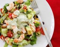 Салат з креветками по-мексиканськи «Кобб»