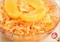 Салат з морквою і апельсином