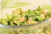 Салат з папороттю і куркою