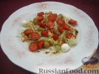 Салат з підсмаженими помідорами