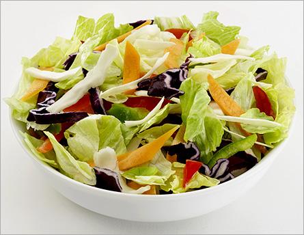 Салат з помідорами, фенхелем і кальмаром