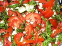 Салат з помідорами