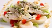 Салат з річковою фореллю