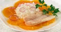 Салат з рибою і апельсинами