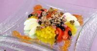 Салат з сайрою та каперсами