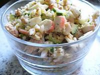Салат з сьомгою «Каліфорнія»