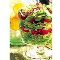 Салат з сиром з цвіллю