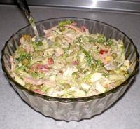 Салат з шинкою «Новизна»