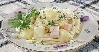 Салат зі шпиком і капустою «по-угорськи»