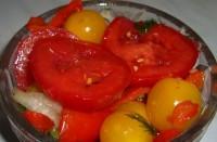 Салат-заготівля овочевий з медом