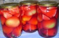 Салат-заготівля з фруктами і перцем