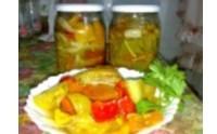 Салат-заготівля з зеленими помідорами