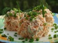 Салат з сиру і моркви