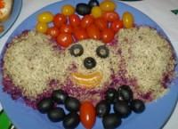 Салат буряковий «Чебурашка»