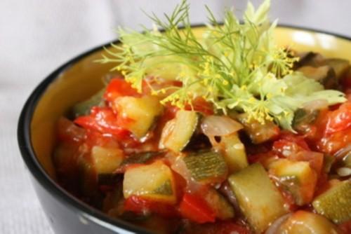 Салати з кабачків на зиму