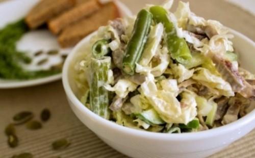Салати з курячими шлунками: 6 рецептів