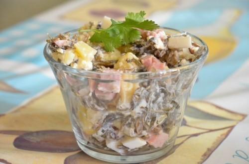 Салати з морською капустою: 6 оригінальних рецептів