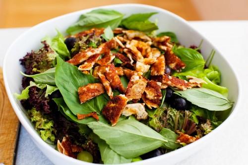 Салати з салатом - найбільш корисна закуска