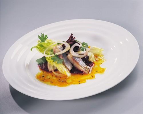 Салати з солоним оселедцем без майонезу