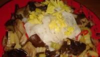 Селера з грибами по-китайськи