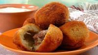 Кульки з картоплі і курки «Смачний обід»