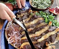 Шашлик з яловичини по-узбецьки «Бешпанджа»