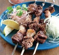 Шашлик з яловичої печінки по-узбецьки «Демба-жигар»