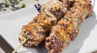 Шашлик «по-китайськи» з морською сіллю