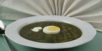 Щі зелені з яйцем холодні (2)